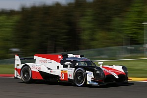 WEC Breaking news Alonso inherits Spa WEC pole as sister Toyota excluded