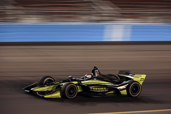 Phoenix IndyCar: Kimball tops night practice for Carlin
