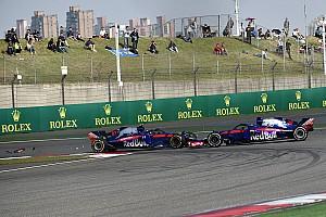 Formula 1 Breaking news Senggolan duo Toro Rosso disebabkan