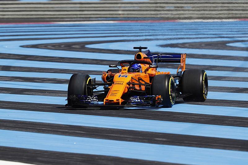 Alonso nem frusztrált, csak zavarta a McLaren lelkesedése