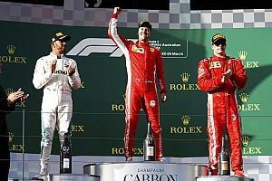 """F1 比赛报告 澳大利亚大奖赛:维特尔以策略战胜汉密尔顿,法拉利收获""""开门红"""""""