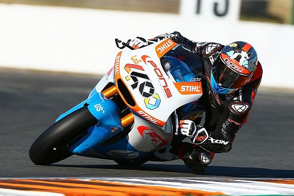 Moto2 Galería: los test de Moto2 en Valencia, en imágenes