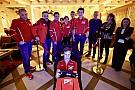 Ferrari y su entrenamiento con futuras estrellas