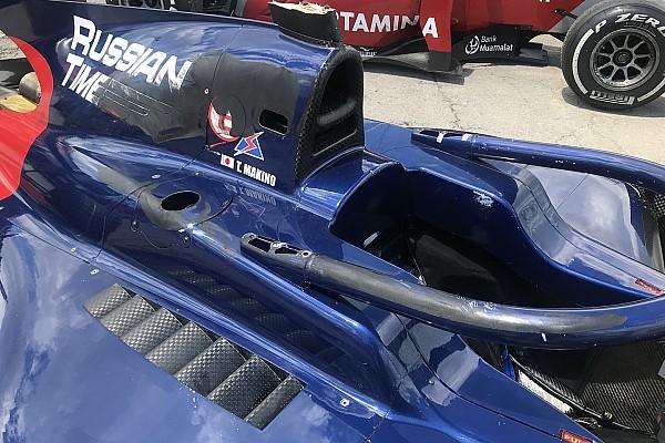 El  Halo salva a piloto de Fórmula 2