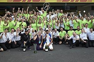 Formule 1 Commentaire Pourquoi les titres de Mercedes en 2017 sont les plus impressionnants