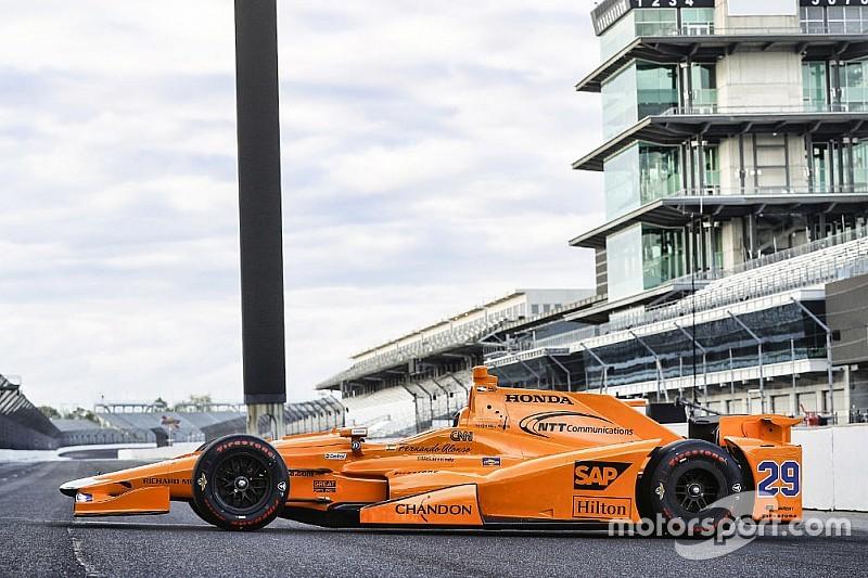 McLaren dévoile la livrée d'Alonso à Indianapolis