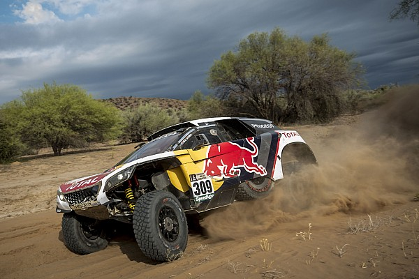 "Dakar Loeb concedes Dakar defeat: ""Pushing now would be crazy"""