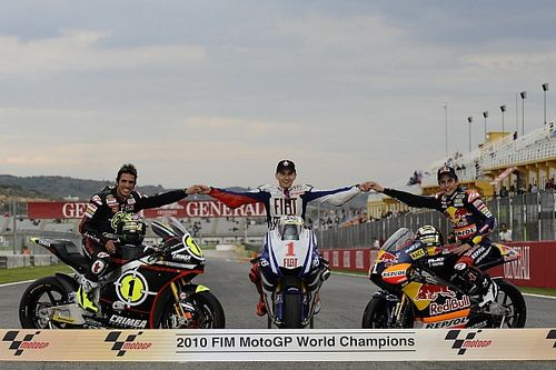 Todos los españoles campeones del mundo de motociclismo