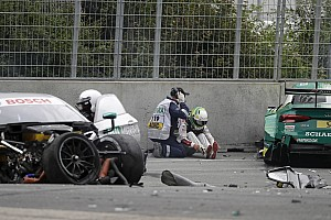 DTM Ultime notizie Piccola frattura per Rockenfeller dopo l'incidente al Norisring