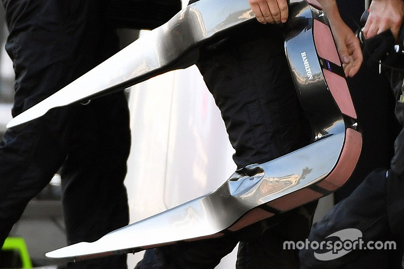 Mercedes akan ganti desain pin headrest setelah masalah Baku