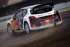 World Rallycross Preview Peugeot-Hansen et Loeb face à un défi de taille