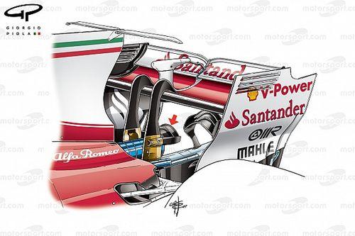 Tech analysis: Ferrari's double monkey seat