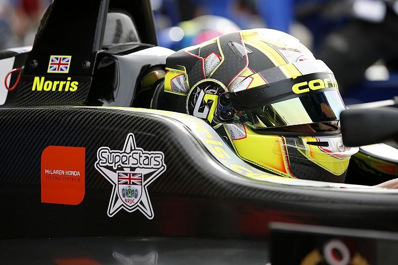 Norris, Portekiz'de McLaren ile test yapacak