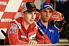 MotoGP Лоренсо готовий підтримати Довіціозо у боротьбі за титул MotoGP