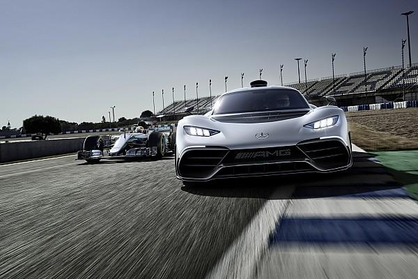 Autó Motorsport.com hírek Videó: így lesz F1-es Mercedesből közúti Project One