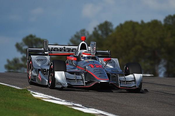 Will Power centra la pole e guida la tripletta Penske a Barber