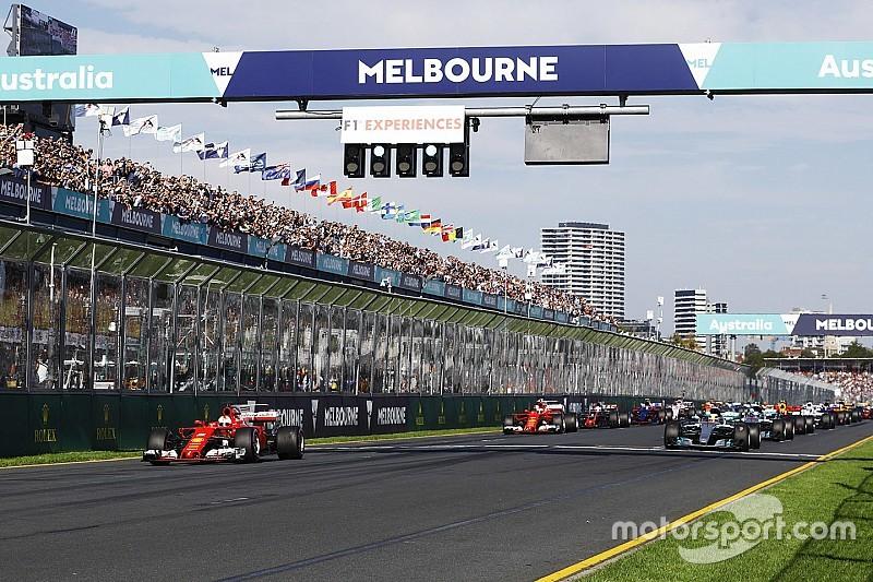 Pourquoi le premier départ du GP d'Australie a été annulé