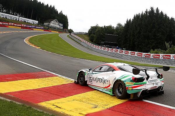 Spa 24 Saat: Ferrari pilotu Calado, 0.057 sn fark ile pole pozisyonunda