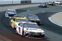 "Hamlin lost out on Loudon win but loved the ""great racing"""