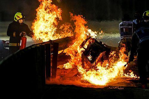 FIA назвала причину пожара Грожана в Бахрейне