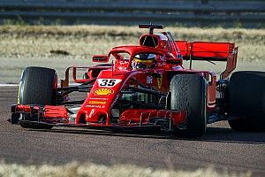 Shwartzman impressiona no primeiro dia de testes da Ferrari em Fiorano