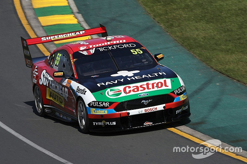 Albert Park Supercars: Mostert tops opening practice by 0.4s