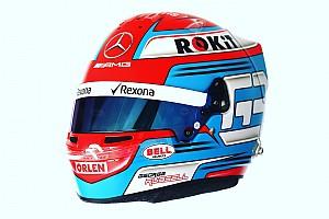 Расселл представил шлем для своего первого сезона в Ф1