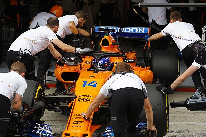 McLaren: Alonso parte dalla pit lane per la sostituzione della MGU-K e dell'ala