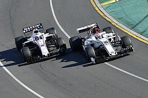 Formule 1 Réactions Derrière Sauber à l'arrivée, Williams est loin du compte