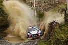 WRC Hyundai domina el Rally de Australia tras el primer día