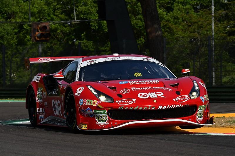 Rugolo sostituisce Fisichella sulla Ferrari 488 della Scuderia Baldini 27 a Misano