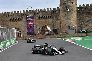 Formula 1 I più cliccati Fotogallery: Hamilton riporta alla vittoria la Mercedes a Baku