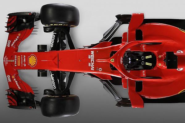 F1 Artículo especial Comparativa entre el Ferrari SF70H y el nuevo SF71H