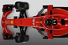 Formula 1 Slide view: 2018 Ferrari F1 car v 2017 version