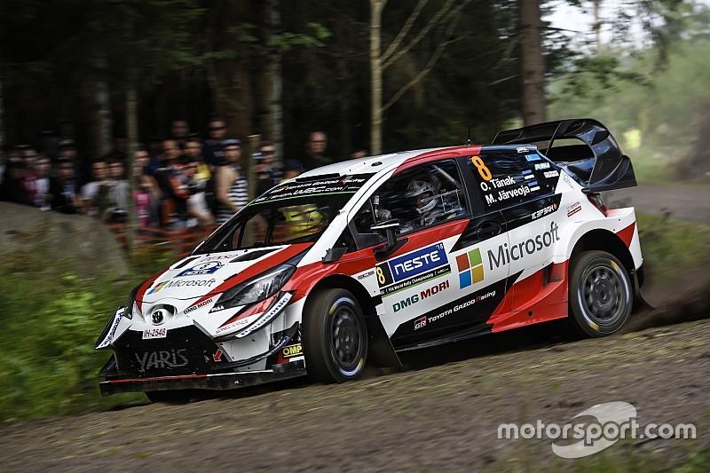 WRCフィンランド:トヨタ勢が絶...