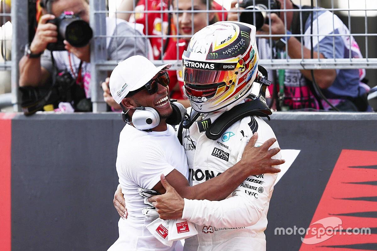 Nicolas Hamilton: Lewis'in başardığı şeyler inanılmaz