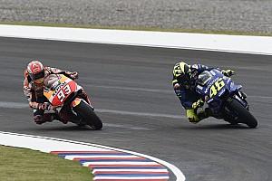 Rossi aún no quiere hablar con Márquez