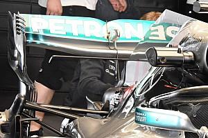 Forma-1 Elemzés Bakura tesztelt hátsó szárnyat a Mercedes Sanghajban