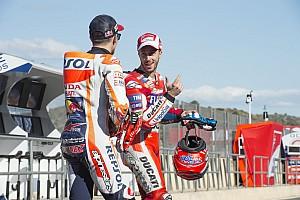 MotoGP Actualités Dovizioso rend à son tour hommage à Márquez