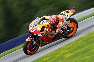 MotoGP Practice report FP3 MotoGP Austria: Marquez memimpin, Rossi kelima