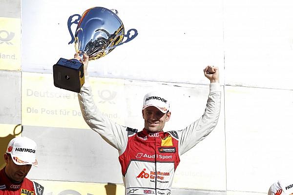 DTM Reporte de la carrera Green gana en Hockenheim