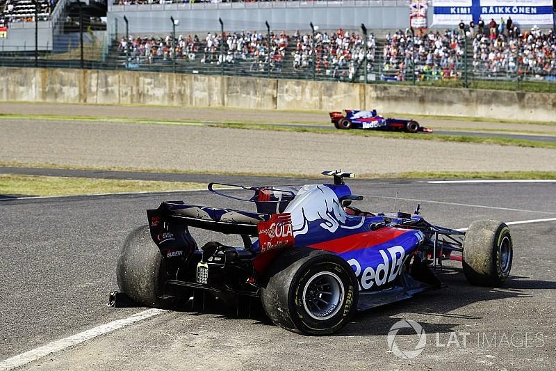 Sainz manque ses adieux à Toro Rosso
