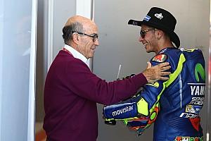 MotoGP Actualités Pour Ezpeleta, les propos concernant une retraite de Rossi sont infondés