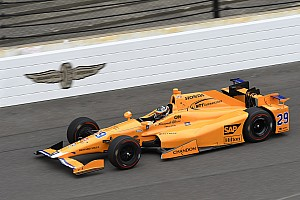 IndyCar Noticias de última hora Alonso, el mejor de los novatos en el test previo a Indy 500