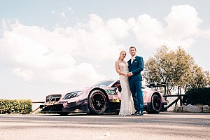 Automotive Breaking news This Mercedes-AMG C63 DTM is the coolest wedding car ever