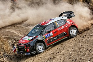 WRC Leg report Mexico WRC: Meeke extends lead as Ogier spins