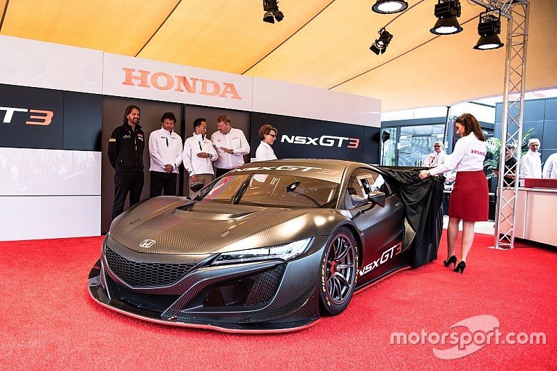 Honda NSX GT3 To Be Made Available Customers