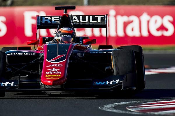 Эйткен выиграл первую гонку GP3 на «Хунгароринге»