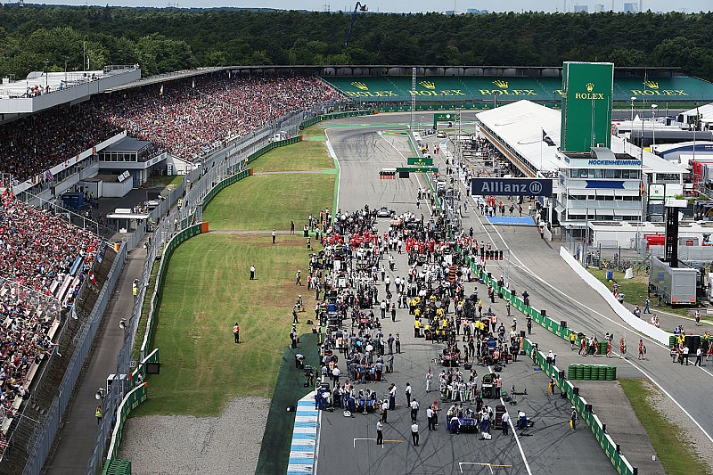 Los horarios del GP de Alemania de F1