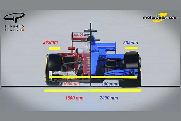 Video: So verändert sich die Formel 1 zur Saison 2017